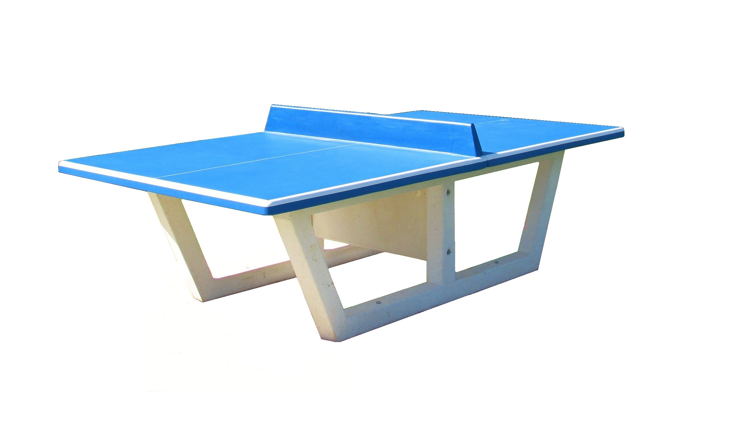 Table de ping pong en b ton emrodis - Table ping pong exterieur beton ...
