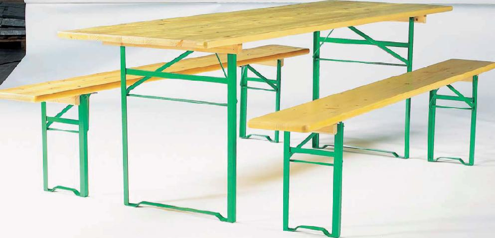 Ensemble Table Et Banc En Bois Pragues 2974 1er Site De Mobilier